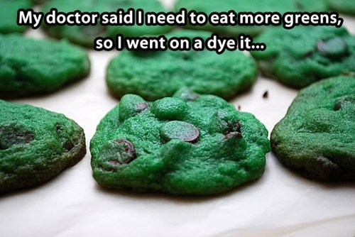 My doctor said I needed to eat more greens