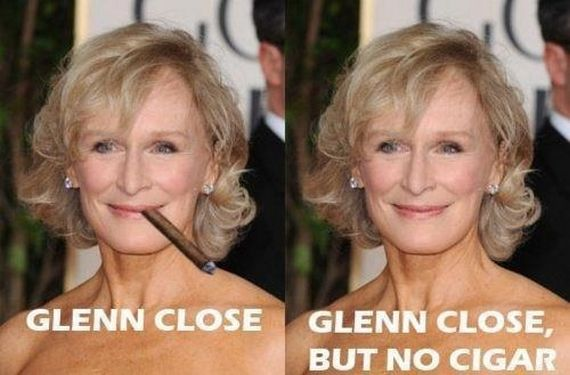 Glen Close, but no Cigar