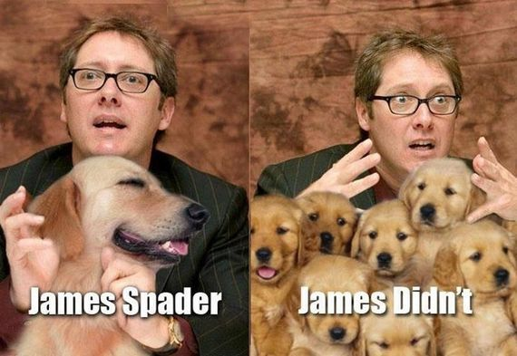 James Spader - James Didn't
